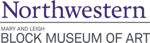 Northwestern Block Art Museum logo